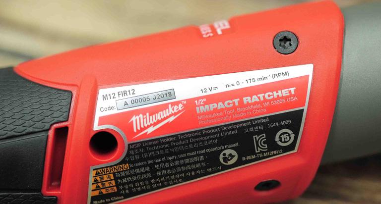 Milwaukee M12 FIR12-0