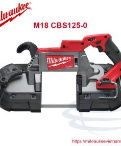 Milwaukee M18 CBS125-0